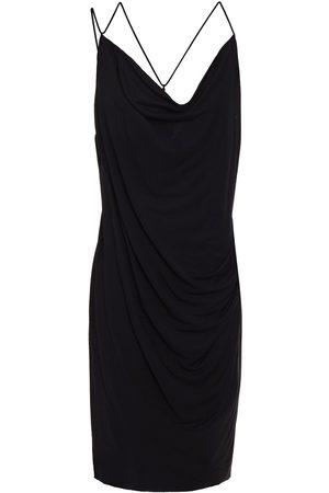Helmut Lang Women Casual Dresses - Woman Draped Jersey Mini Dress Size L