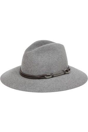 Brunello Cucinelli Women Hats - Fedora with monili
