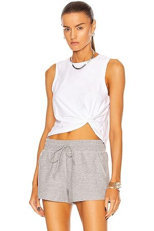 Beyond Yoga Front Twist Muscle Tank in