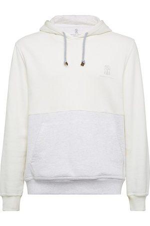 Brunello Cucinelli Men Hoodies - French terry sweatshirt
