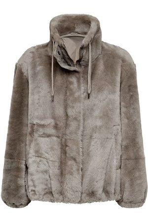 Brunello Cucinelli Women Leather Jackets - Shearling jacket