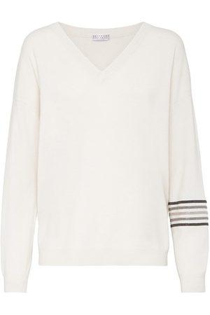 Brunello Cucinelli Women Sweatshirts - Cashmere sweater
