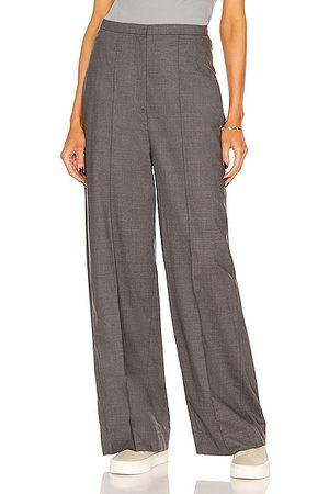 Totême Wide Business Trouser in Grey