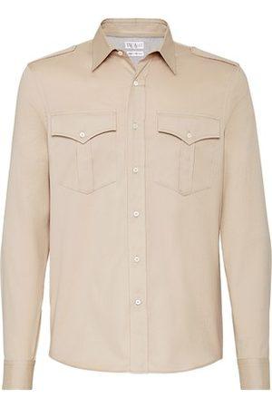 Brunello Cucinelli Shirt with chest pockets