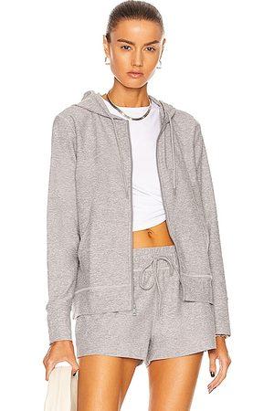 Beyond Yoga Spacedye Everyday Hoodie Jacket in Light Grey