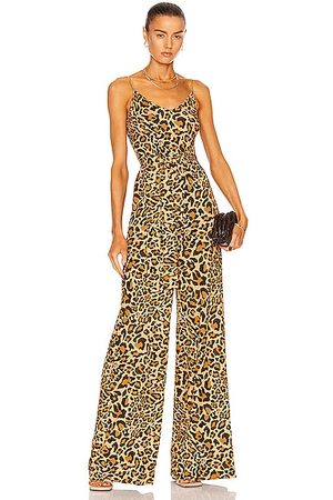 Dundas Byron Jumpsuit in Brown