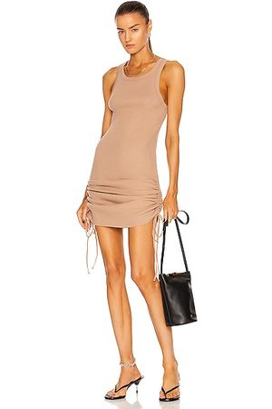 THE RANGE Women Party Dresses - Cinched Mini Dress in Tan