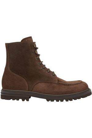 Brunello Cucinelli Men Ankle Boots - Suede boots