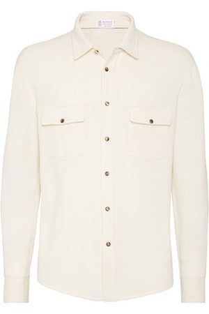 Brunello Cucinelli Wool, cashmere and silk cardigan