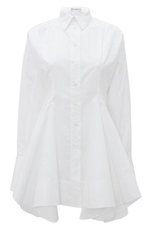 J.W.Anderson Women Long sleeves - Fitted Waist Flared Tunic