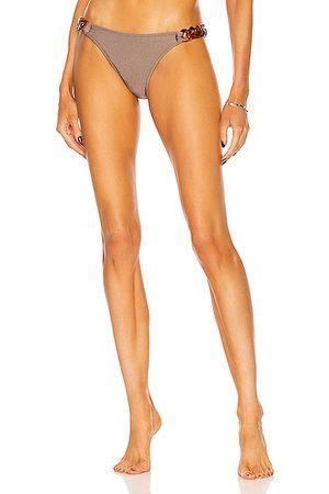 Shani Brownies Chain Bikini Bottom in