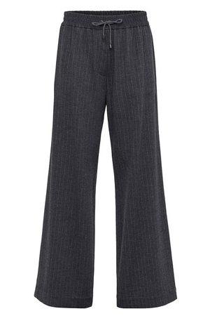 Brunello Cucinelli Women Wide Leg Pants - Jersey trousers