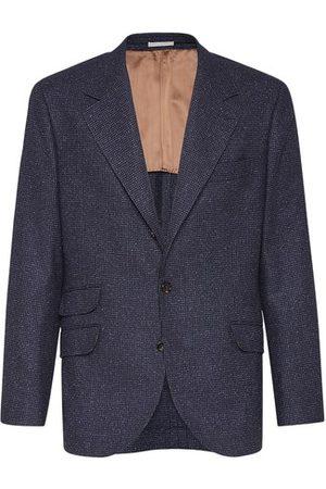 Brunello Cucinelli Men Blazers - Houndstooth blazer