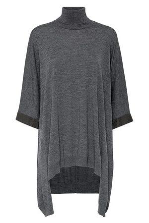 Brunello Cucinelli Poncho-style sweater