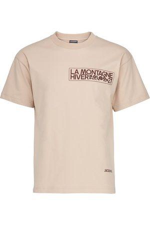 Jacquemus Men Short Sleeve - Montagne t-shirt