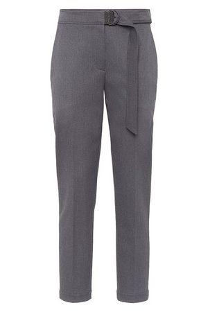 Brunello Cucinelli Boyfit cigarette trousers
