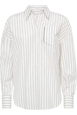 Brunello Cucinelli Shirt with monili