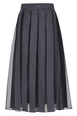 Brunello Cucinelli Women Maxi Skirts - Flannel skirt