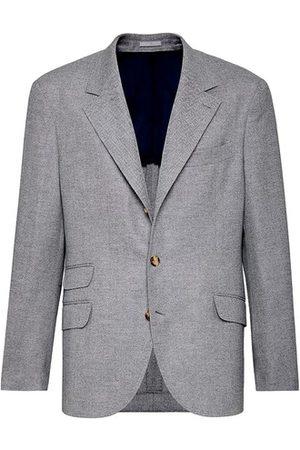 Brunello Cucinelli Men Blazers - Deconstructed Cavallo blazer
