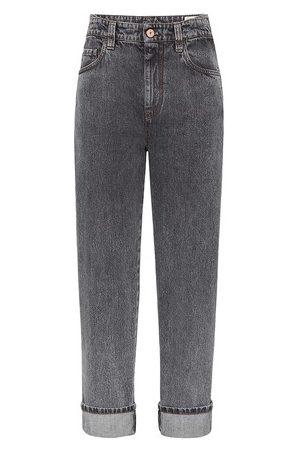 Brunello Cucinelli Women Straight Leg Pants - Skater trousers