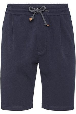 Brunello Cucinelli Men Bermudas - Bermuda shorts with pleats