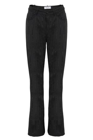 Marine Serre Straigh-fit trousers