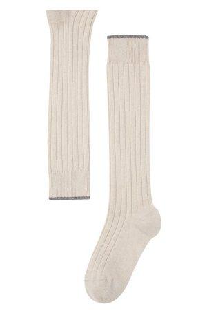Brunello Cucinelli Rib knit socks