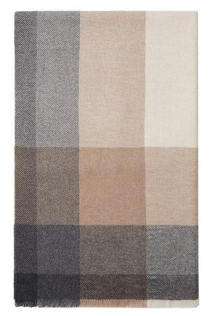 Brunello Cucinelli Men Scarves - Wool and cashmere scarf
