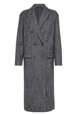 Brunello Cucinelli Chevron coat