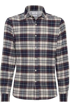 Brunello Cucinelli Madras shirt