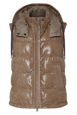 Brunello Cucinelli Women Gilets - Reversible down vest