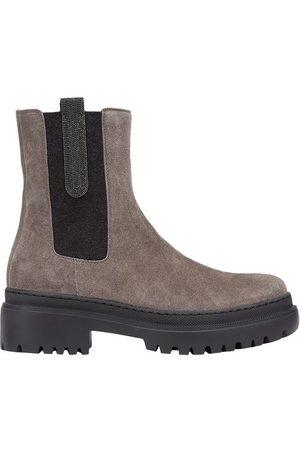 Brunello Cucinelli Suede boots