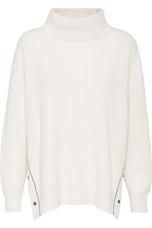 Brunello Cucinelli Women Turtlenecks - Sweater with monili