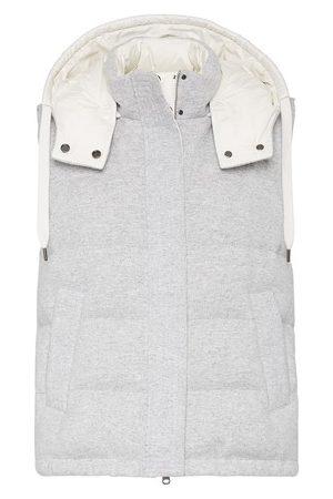 Brunello Cucinelli Women Gilets - Cashmere down vest