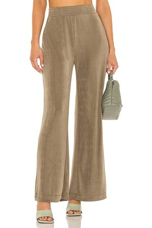 Alix NYC Gates Pant in Olive,Taupe.