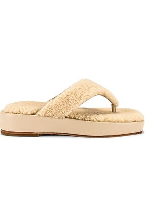 House of Harlow X REVOLVE Theo Sandal in Neutral.