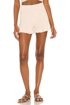 House of Harlow X REVOLVE Olivia Short in Neutral.