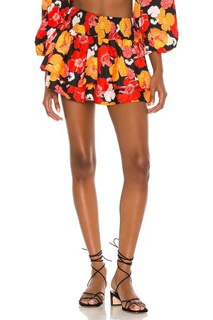 Agua Bendita X REVOLVE Teresa Skirt in Orange,Red.