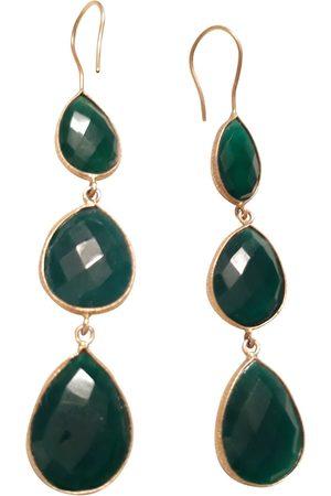 CHAN LUU Silver gilt earrings