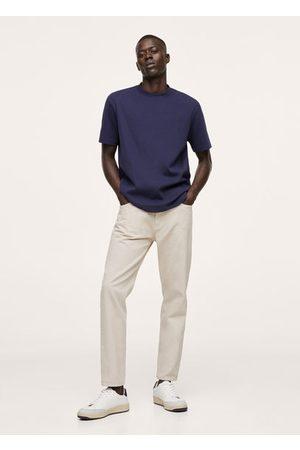 MANGO Cotton regular-fit T-shirt