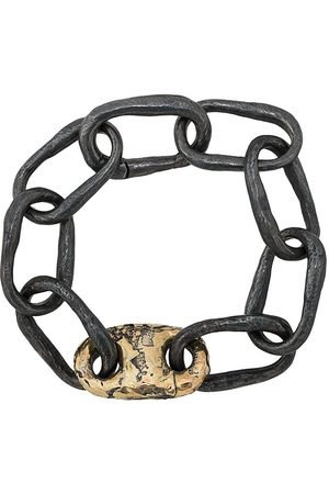 PARTS OF FOUR Small closed link bracelet - Grey