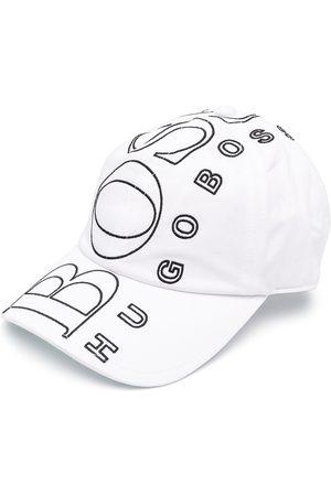 HUGO BOSS Boys Caps - Logo-embroidered baseball cap
