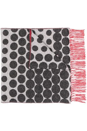 Marni Women Scarves - Dotted fringed scarf