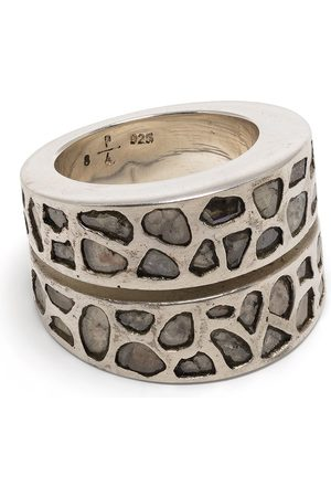 PARTS OF FOUR Rings - Diamond encrusted sterling ring