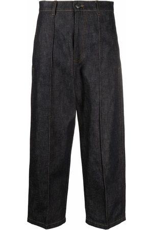 Ami Women Wide Leg - Wide-leg cropped jeans