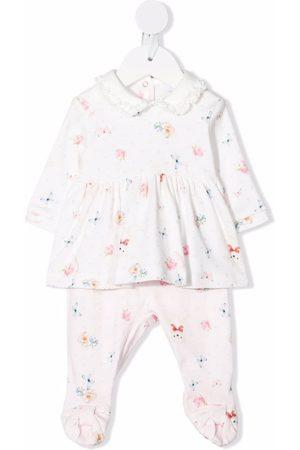 MONNALISA Formal Pants - Butterfly-print trouser set
