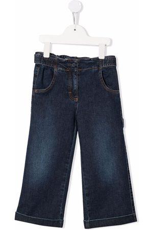 Il gufo Girls Wide Leg - Mid-rise wide-leg jeans
