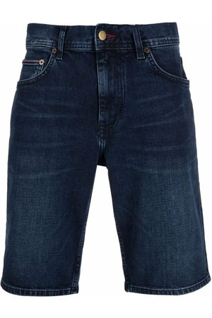 Tommy Hilfiger Men Shorts - Knee-length denim shorts