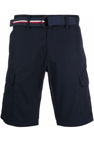 Tommy Hilfiger Men Shorts - Belted chino shorts