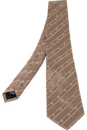 Givenchy Men Neckties - Vintage Patterned Silk Jacqaurd Tie